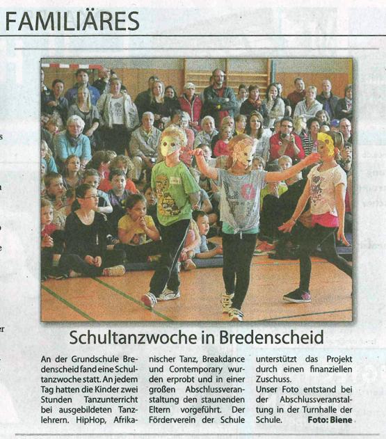 Schultanzwoche-Stadtspiegel